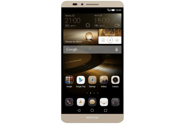 Запчасти Huawei: Дисплейный модуль Huawei Mate 7 золотой