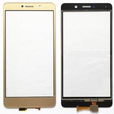 Запчасти Huawei: Тачскрин Huawei Honor 6X (золотой)