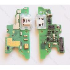 Запчасти Huawei: Нижняя плата с системным разъемом Huawei Honor 6x