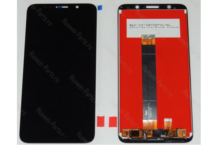 Дисплей с тачскрином Huawei Honor 7A / Honor 9S / Y5 2018 / Y5 Prime 2018 / Y5 Lite / Y5p чёрный
