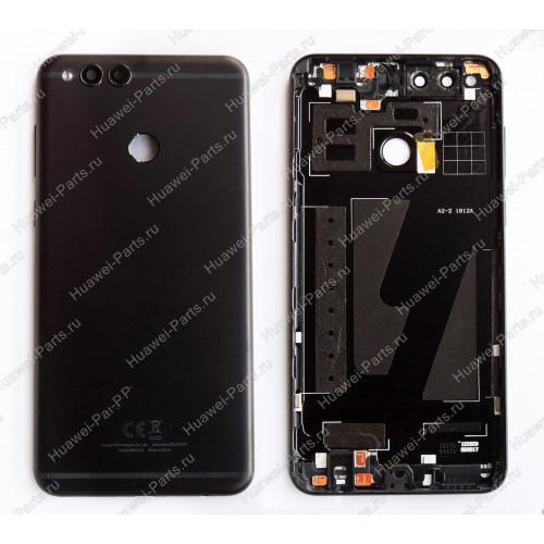Запчасти Huawei: Задняя крышка Huawei Honor 7X черная