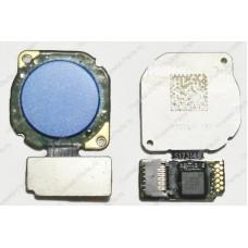 Сканер отпечатка пальца Huawei 7X синий