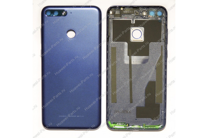 Запчасти Huawei: Задняя крышка Huawei Honor 7A pro / 7C чёрная