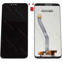 Дисплей с тачскрином Huawei Y6 2018 белый