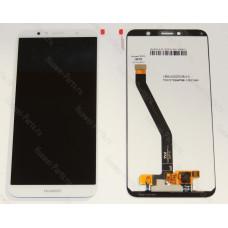 Дисплей с тачскрином для Huawei Honor 7A PRO белый