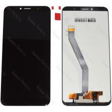 Дисплей с тачскрином для Huawei Honor 7C чёрный
