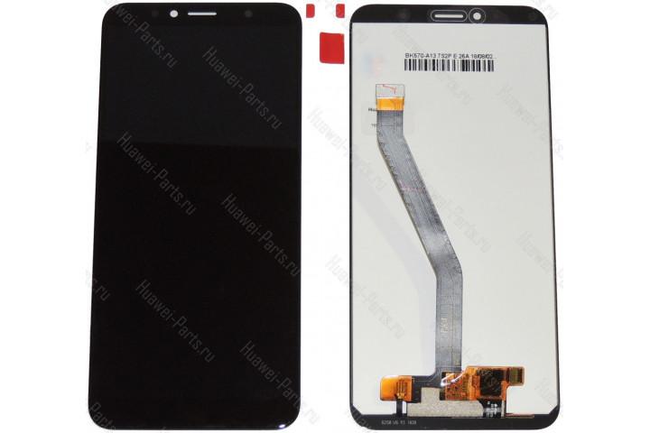 Дисплей с тачскрином Huawei Honor 7C чёрный