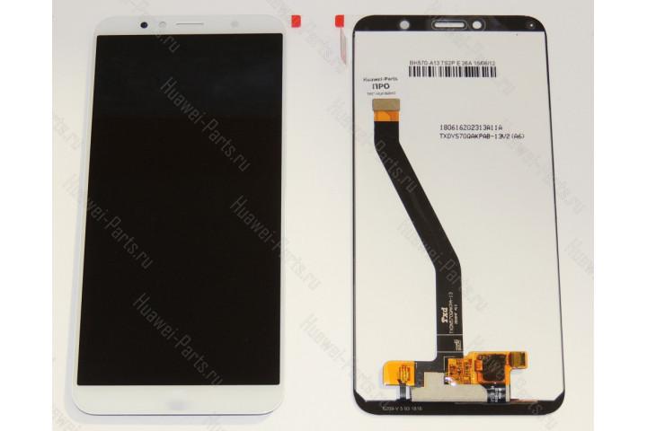 Дисплей с тачскрином Huawei Honor 7C белый