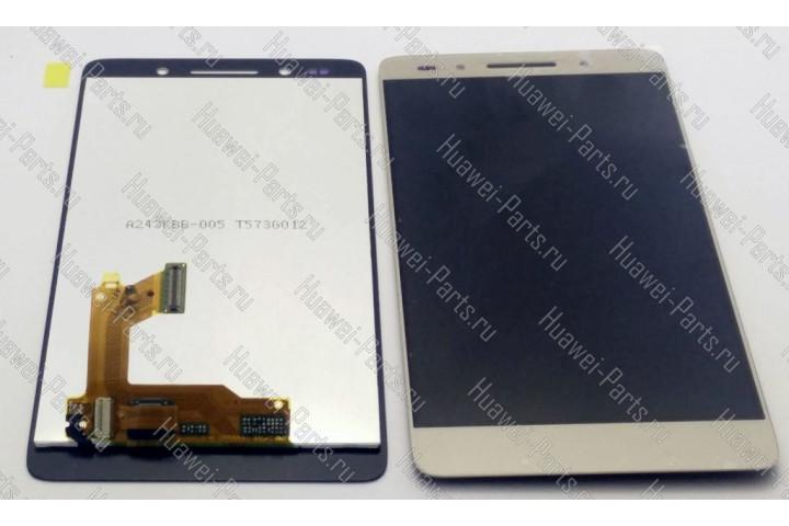 Запчасти Huawei: Дисплей с тачскрином Huawei Honor 7 золотой