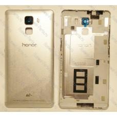 Запчасти Huawei: Задняя крышка корпуса Huawei Honor 7 (серая/светлая)