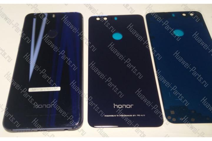 Запчасти Huawei: Задняя крышка Huawei Honor 8 синяя (неоригинал)