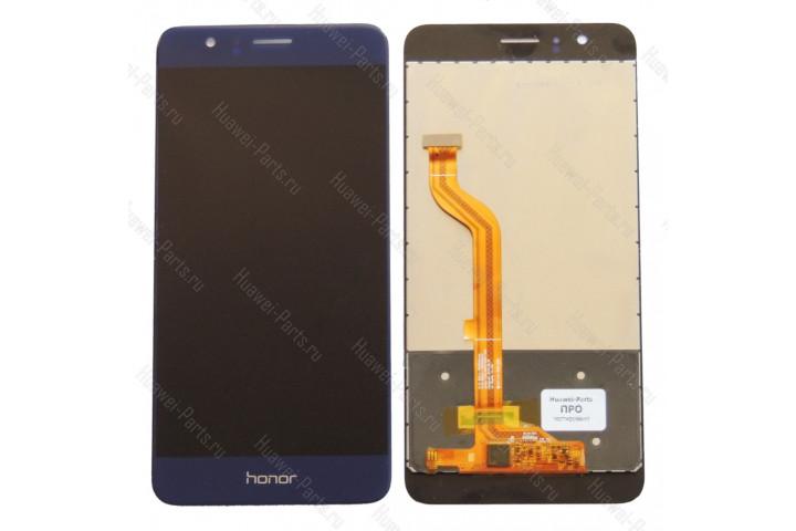 Запчасти Huawei: Дисплей с тачскрином Huawei Honor 8 синий