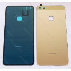 Запчасти Huawei Задняя крышка Huawei P10 lite золотая