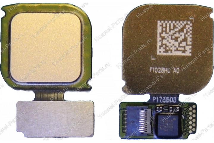 Сканер отпечатка пальца Huawei P10 Lite золотой
