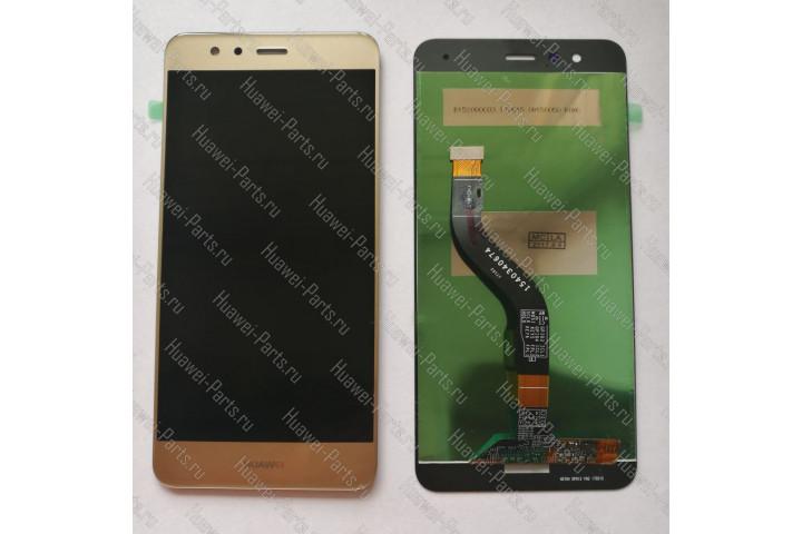 Запчасти Huawei Meizu Дисплей с тачскрином Huawei P10 Lite золотой