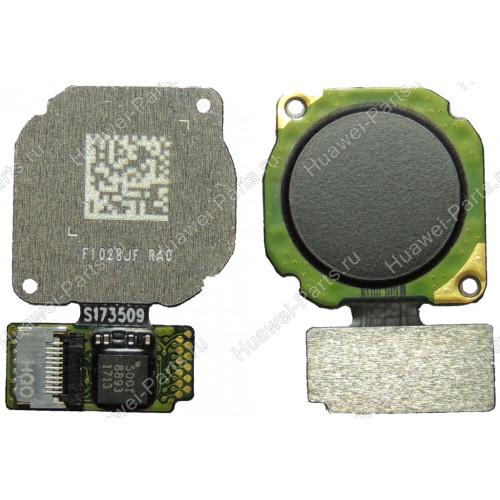 Запчасти Huawei: Сканер отпечатка пальца Huawei P20 Lite чёрный