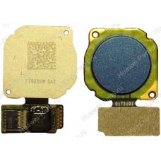 Запчасти Huawei: Сканер отпечатка пальца Huawei P20 Lite синий