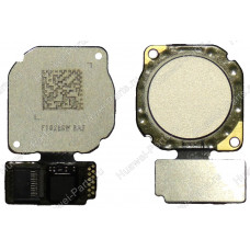 Запчасти Huawei: Сканер отпечатка пальца Huawei P20 Lite белый