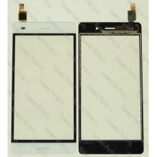 Сенсорный экран (тачскрин) Huawei P8 Lite белый
