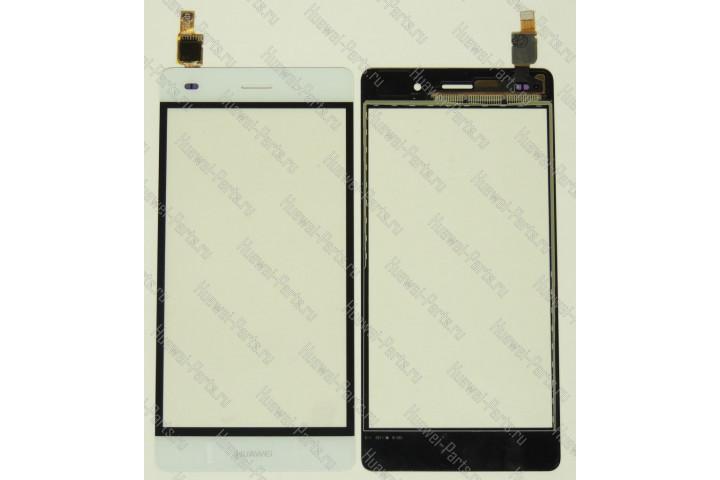 Запчасти Huawei: Сенсорный экран (тачскрин) Huawei P8 Lite белый