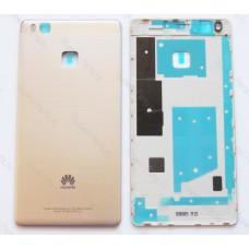 Запчасти Huawei: Задняя крышка Huawei P9 Lite золотая