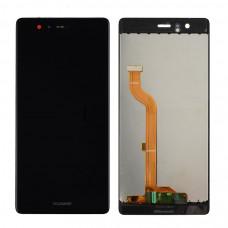 Дисплей с тачскрином для Huawei P9 чёрный