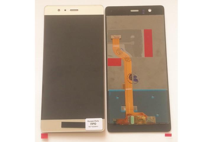 Запчасти Huawei: Дисплей с тачскрином Huawei P9 золото