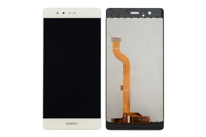 Запчасти Huawei: Дисплей с тачскрином Huawei P9 белый