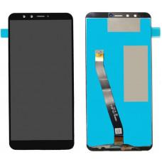 Запчасти Huawei: Дисплей с тачскрином Huawei y9 2018, FLA чёрный