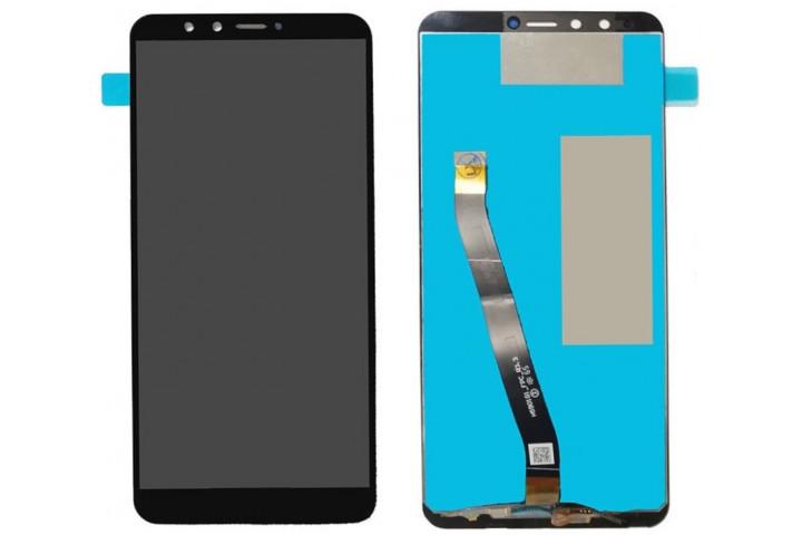 Запчасти Huawei: Дисплей с тачскрином Huawei y9 2018, FLA белый