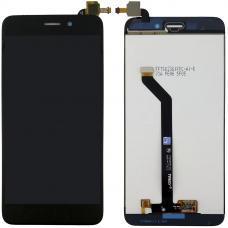 Дисплей для Huawei Honor 6C Pro в сборе с тачскрином черный