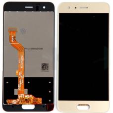 Дисплей для Huawei Honor 9 / 9 Premium в сборе с тачскрином золотой