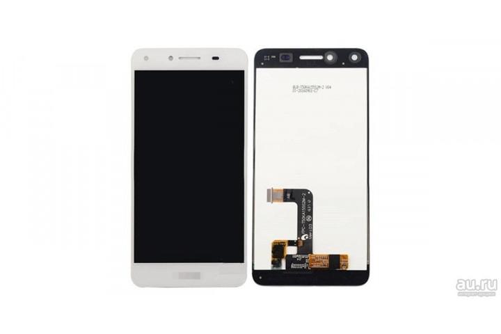 Дисплей для Huawei Honor 5A / Y5 II в сборе с тачскрином белый