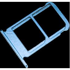 Лоток симкарт для Huawei Honor 10 синий
