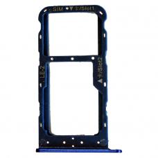 Лоток симкарт для Huawei Honor 9 Lite синий
