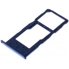 Лоток симкарт для Huawei P smart 2019 / Honor 10 Lite / 10i / 20 Lite cиний
