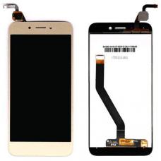 Дисплей для Huawei Honor 6A в сборе с тачскрином Золотой