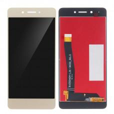Дисплей для Huawei Honor 6C в сборе с тачскрином золотой