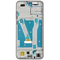 Рамка дисплея для Huawei Honor 9 Lite белая