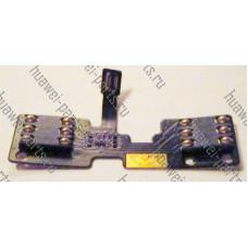 Шлейф с коннекторами симкарт Huawei G710