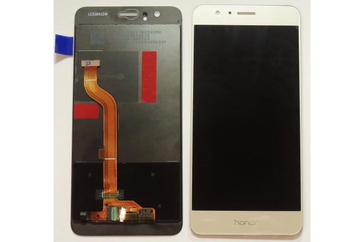 Запчасти Huawei: Дисплей с тачскрином Huawei Honor 8 золотой