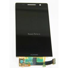 Запчасти Huawei Meizu Дисплей в сборе с тачскрином Huawei P6 P6s (чёрный)