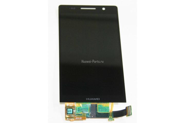 Запчасти Huawei: Дисплей в сборе с тачскрином Huawei P6 P6s (чёрный)