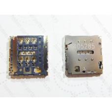 Запчасти Huawei Meizu Держатель симкарты Huawei P6/X1/ Gionee ELIFE E7 (гнездо)