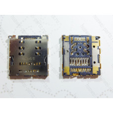 Запчасти Huawei: Гнездо nanosim / sd карты Huawei P7 / P8 / Mate 7