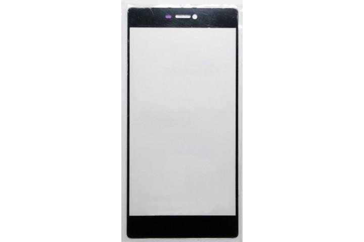Запчасти Huawei: Стекло Huawei P8 чёрное