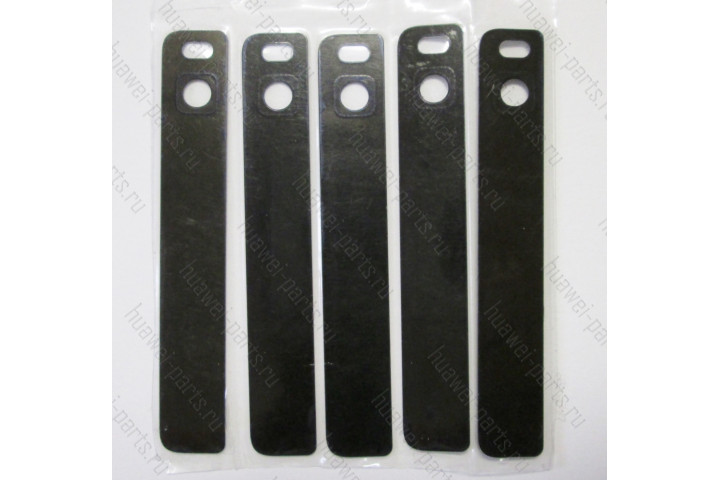 Запчасти Huawei: Стекло фотокамеры Huawei P8 (чёрное)