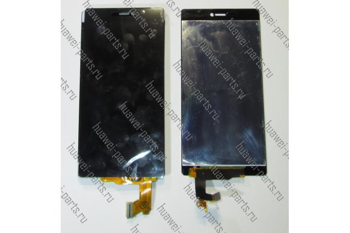 Запчасти Huawei: Дисплей в сборе с тачскрином Huawei P8 standart чёрный
