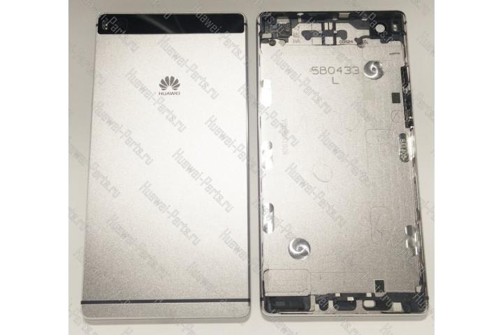 Запчасти Huawei: Корпус Huawei P8 (задняя крышка, тёмная)