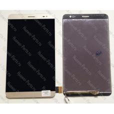 Запчасти Huawei: Дисплей с тачскрином Huawei Mediapad X2 золотой